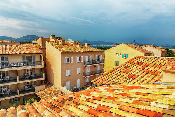 Photograph - roofs of San Tropez by Ariadna De Raadt