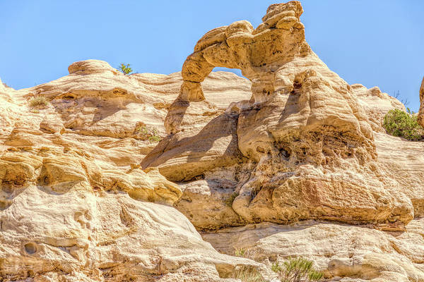 Wall Art - Photograph - Rooftop Arch In Pilares Canyon New Mexico by Debra Martz