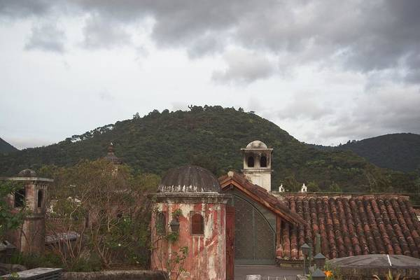 Wall Art - Photograph - Rooftop Coppola In Guatemala by Douglas Barnett
