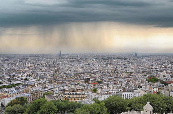 Paris Rooftop Photograph - Rooftop Of Paris Town by Jimpix