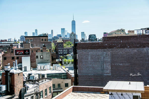 Wall Art - Photograph - Rooftop View Of The World Trade Center 1 by Madeline Ellis