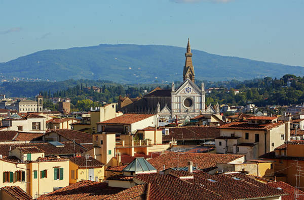 Rooftops And Skyline Of Florence Art Print