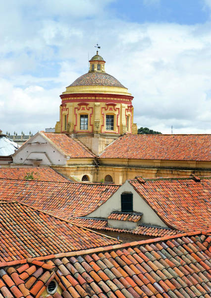 Colombian Wall Art - Photograph - Rooftops, Bogota, Colombia by Mark Edward Harris