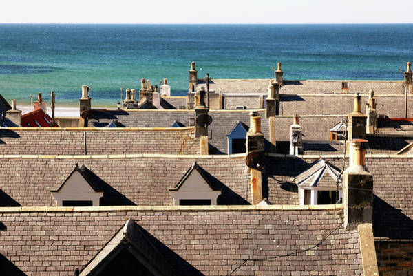 Photograph - Rooftops by Nicholas Blackwell