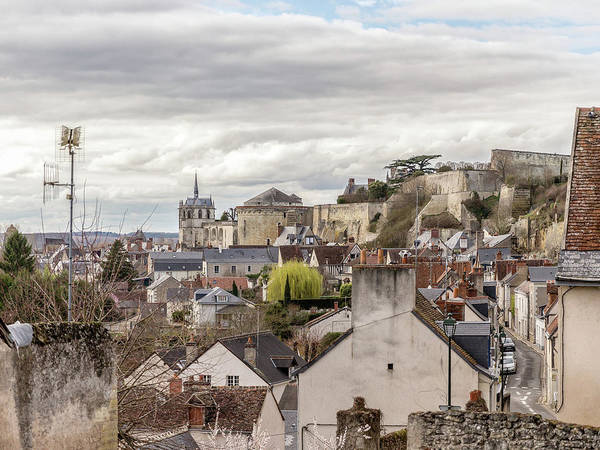 Photograph - Rooftops Of Amboise by Mark Playle