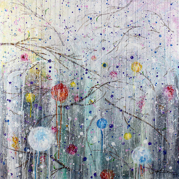 Twig Mixed Media - Room For A Dreamer by Kume Bryant