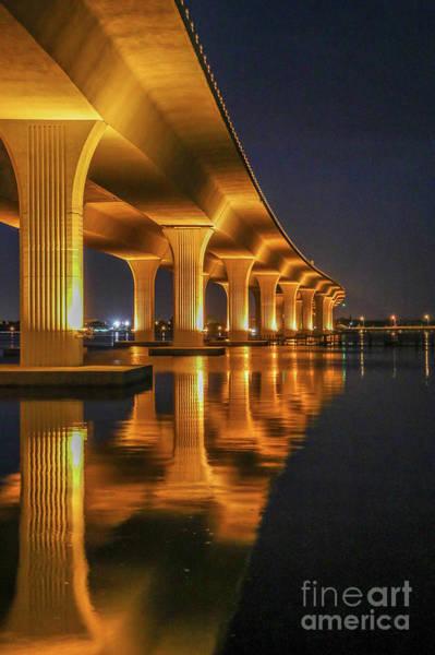 Photograph - Roosevelt Bridge Portrait by Tom Claud