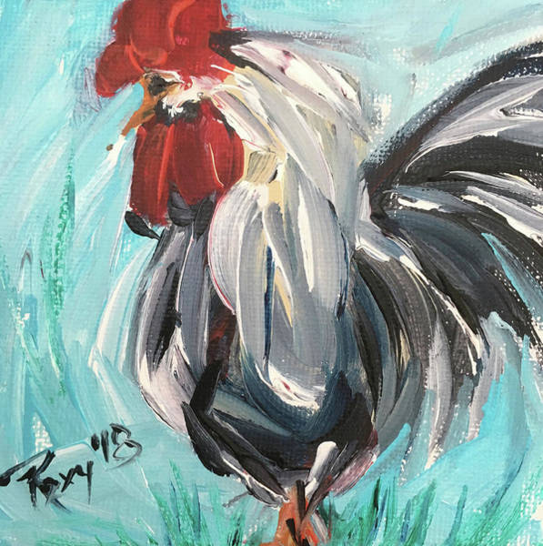 Animal Painting - Roost by Roxy Rich