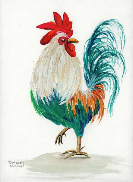 Painting - Rooster 5 by Darice Machel McGuire