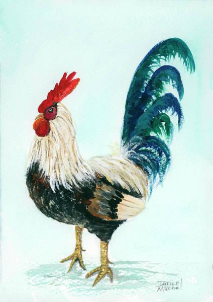 Painting - Rooster 8 by Darice Machel McGuire