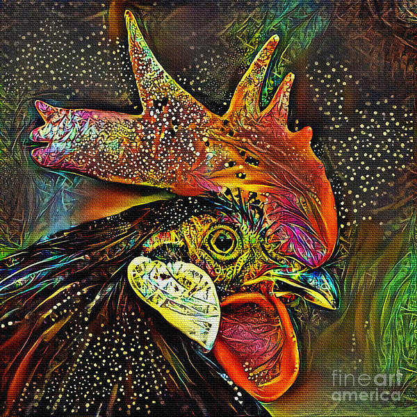 Wall Art - Photograph - Rooster Art By Kaye Menner by Kaye Menner