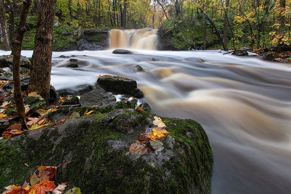 Wall Art - Photograph - Root Beer Falls 1 by Heather Kenward