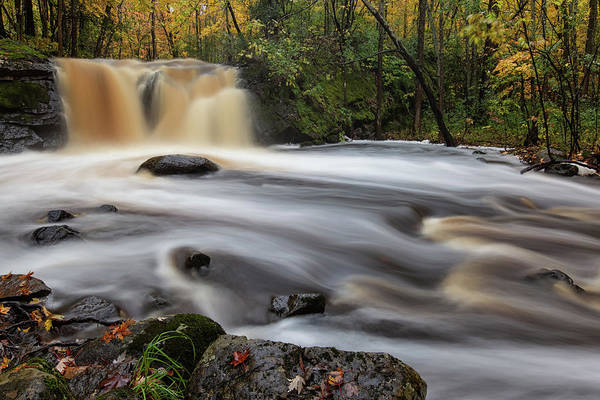 Wall Art - Photograph - Root Beer Falls 3 by Heather Kenward