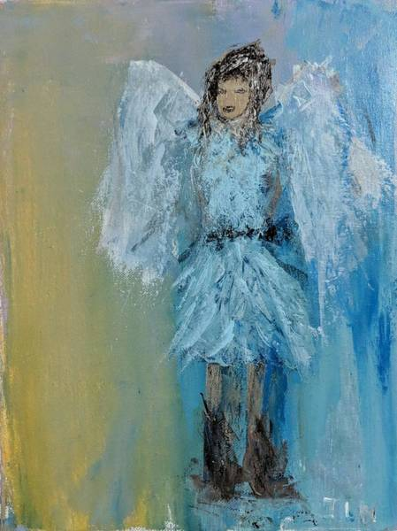 Painting - Rootin Tootin Angel by Jennifer Nease
