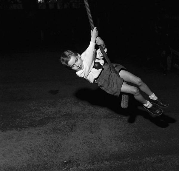 Playful Photograph - Rope Swing by Vagn Hansen