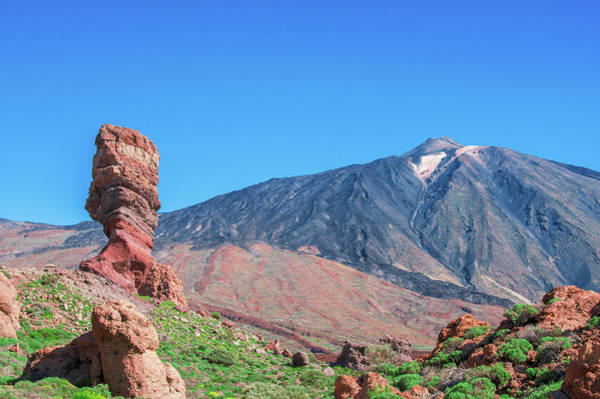 Photograph - Roque Cinchado In Front Of Mount Teide by Sun Travels