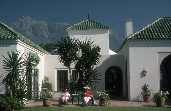 Marbella Photograph - Rosanbos by Slim Aarons