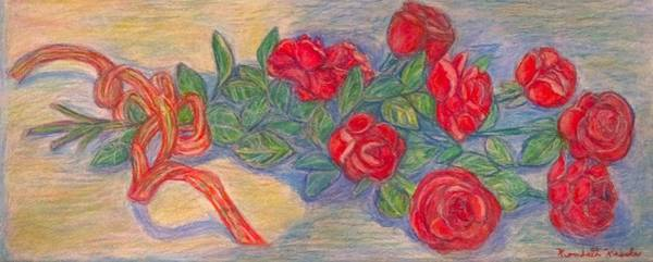 Painting - Rose  Bouquet by Kendall Kessler