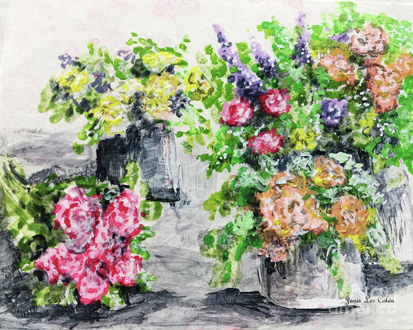 Painting - Rose Bundles by Janis Lee Colon