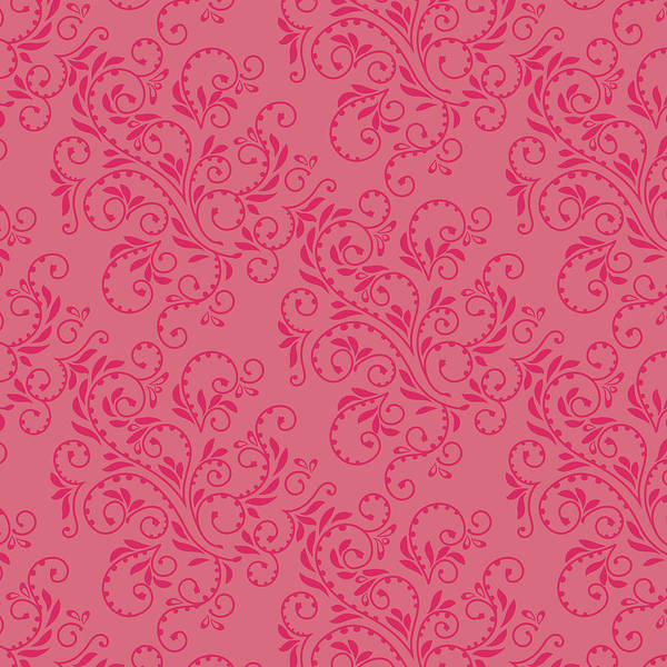 Digital Art - Rose Fern Pattern by Garden Gate magazine