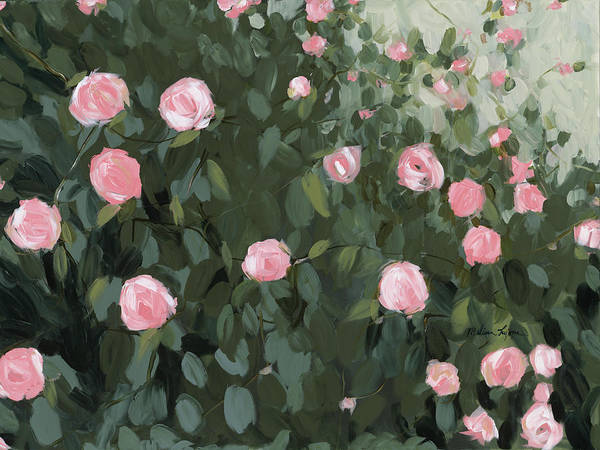 Wall Art - Painting - Rose Garden by Melissa Lyons