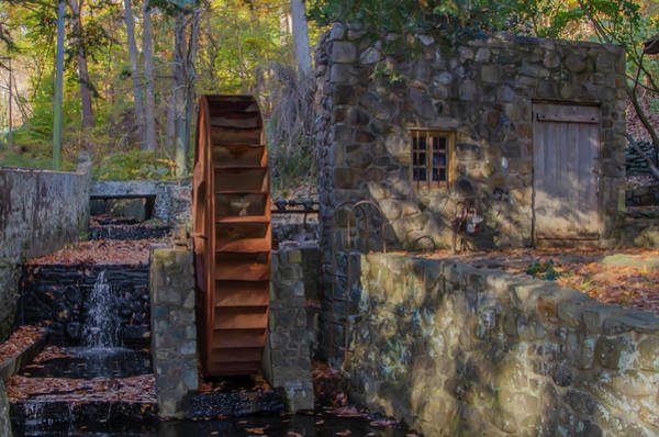 Wall Art - Photograph - Rose Glen Mill - Autumn In Bala Cynwyd  by Bill Cannon
