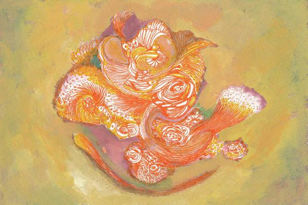 Rose - #ss19dw009 Art Print by Satomi Sugimoto