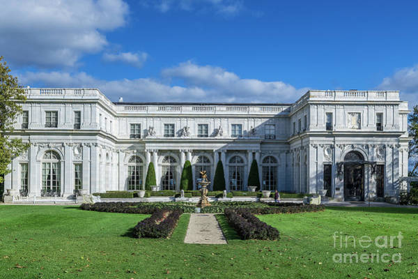 Wall Art - Photograph - Rosecliff Mansion by John Greim