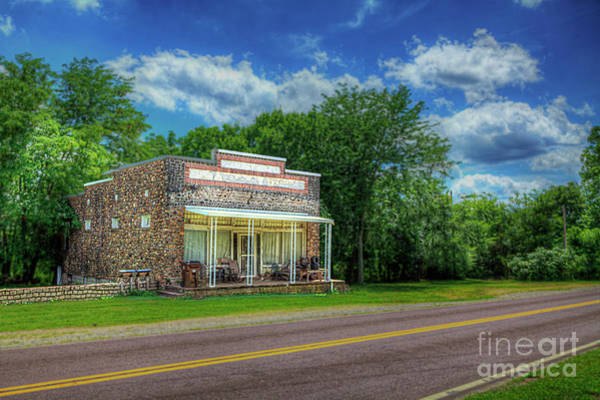 Wall Art - Photograph - Roselle Missouri  by Larry Braun