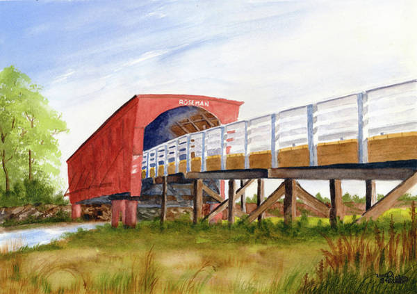 Painting - Roseman Bridge by Rich Stedman