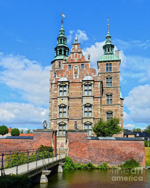 Wall Art - Photograph - Rosenborg Castle And Moat by Catherine Sherman