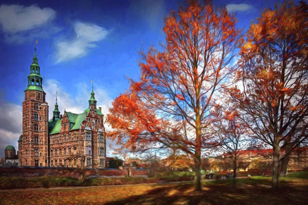 Castle Garden Photograph - Rosenborg Castle Copenhagen by Carol Japp