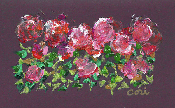 Painting - Roses 1001 by Corinne Carroll