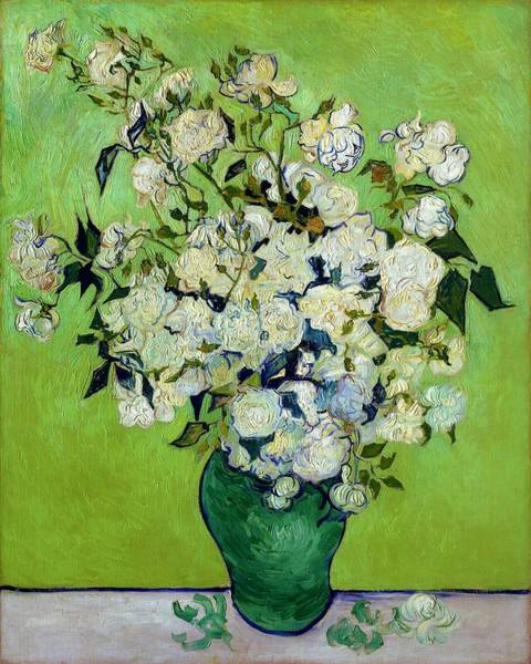 Wall Art - Painting - Roses - Digital Remastered Edition by Vincent van Gogh