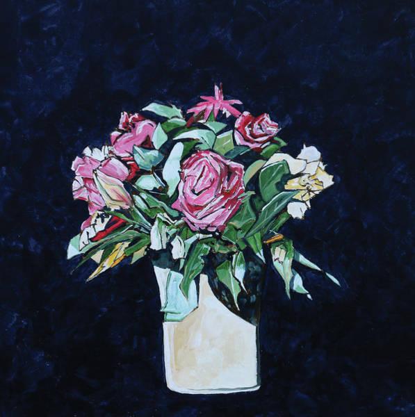 Wall Art - Digital Art - Roses I by Stuart Roy