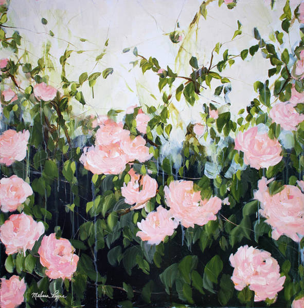 Wall Art - Painting - Roses II by Melissa Lyons