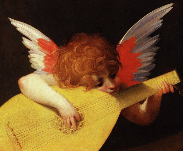 Strum Wall Art - Painting - Rosso Fiorentino  by Rosso Fiorentino