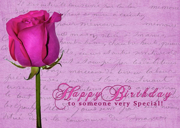 Photograph - Rosy Birthday by Cathy Kovarik
