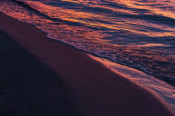Photograph - Rosy Tide by Heather Kenward