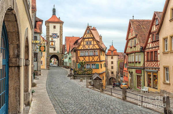 Wall Art - Photograph - Rothenburg Ob Der Tauber, Famous by Boris Stroujko