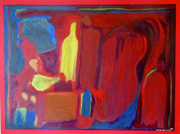 Wall Art - Painting - Rothko Redux by Stephanie Moore
