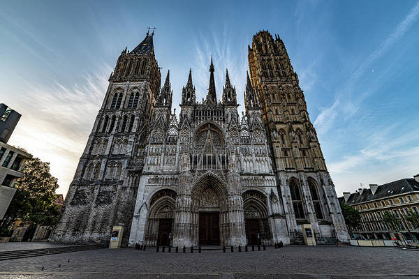 Wall Art - Photograph - Rouen Cathedral by Randy Scherkenbach
