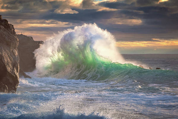 Photograph - Rough Sea 11 by Giovanni Allievi