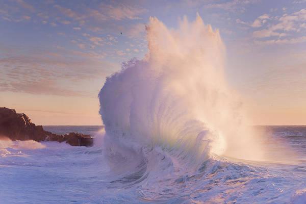 Photograph - Rough Sea 15 by Giovanni Allievi