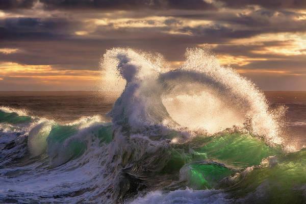 Photograph - Rough Sea 23 by Giovanni Allievi