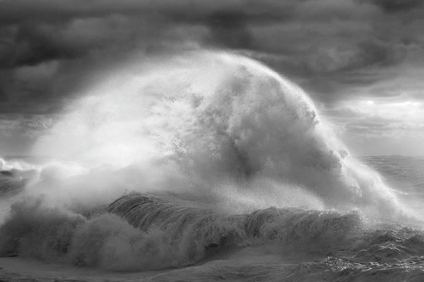 Photograph - Rough Sea 30 by Giovanni Allievi