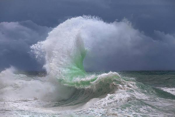 Photograph - Rough Sea 4 by Giovanni Allievi