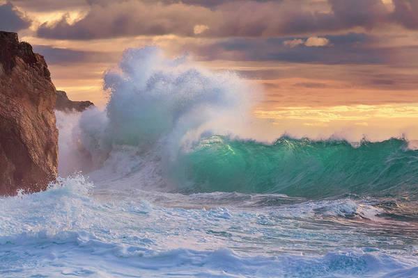 Photograph - Rough Sea 9 by Giovanni Allievi