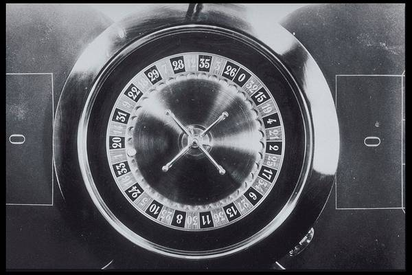 Luck Photograph - Roulette Wheel From Above by Archive Holdings Inc.