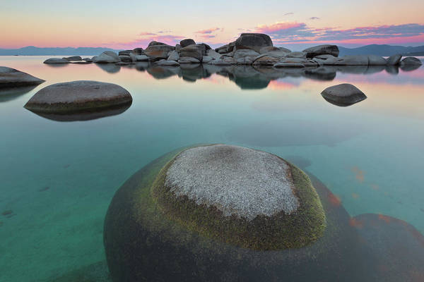 Lake Tahoe Photograph - Round Rock Revolution by Ropelato Photography; Earthscapes